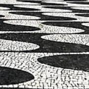 Portuguese Pavement Art Print