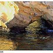 Poseidons Grotto Art Print
