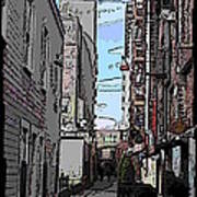 Post Alley 6 Art Print