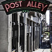Post Alley Art Print