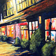 Post Alley Seattle Art Print