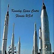 Post Card Of The Kennedy Space Centre Florida Art Print