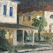 Post Office Apalachicola Art Print