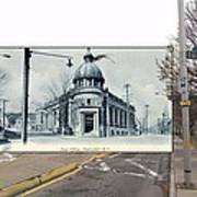 Post Office In Pawtucket Rhode Island Art Print