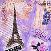 Postcard From Paris Art Print