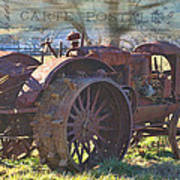 Postcard From The Past Art Print by Kathy Jennings
