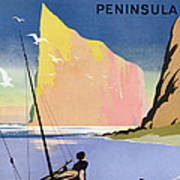 Poster Advertising The Gaspe Peninsula Quebec Canada Art Print