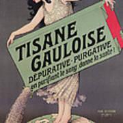 Poster Advertising Tisane Gauloise Art Print
