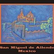 Poster - Cobblestone To The Basilica Art Print by Marcia Meade