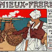 Poster Sardines, 1899 Art Print