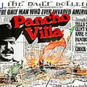 Poster Telly Savalos Pancho Villa In Pancho Villa 1972-2013 Art Print