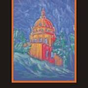 Poster - The Basilica Art Print by Marcia Meade
