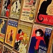Posters In Paris Art Print