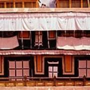 Potala Palace Rooftop - Lhasa Tibet Art Print