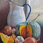 Potential Pumpkin Soup Art Print