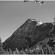 Pothole Dome In Yosemite Art Print