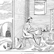 Potter, 1659 Art Print