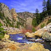 Poudre Canyon Art Print