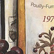Pouilly Fume 1975 Art Print