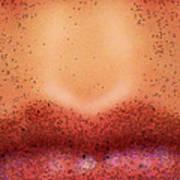 Pouty Lips Art Print