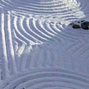 Powder In Zen Two Art Print by Feile Case