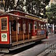 Powell And Market Cable Car Art Print