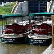 Powell Boats Art Print
