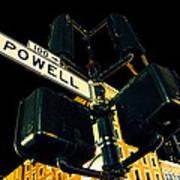 Powell Street Art Print