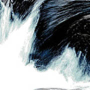 Power Of Water Art Print
