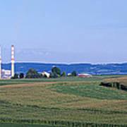 Power Plant Energy Art Print