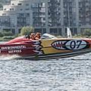 Powerboat 3 Art Print