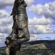 Powis Castle Statuary Art Print