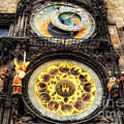 Prague Clock Orloj Art Print