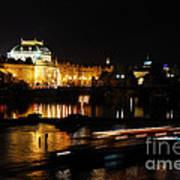 Prague National Theater Art Print