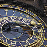 Prague Orloj Art Print