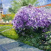 Prague Spring Loreta Lilacs Art Print