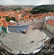 Prague - View From Castle Tower - 08 Art Print