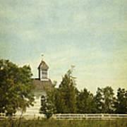 Prairie Church Art Print