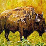 Prairie Companions Art Print