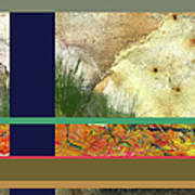 Prairie Grasses Amid The Rocks Art Print