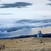 Prairie Storm Is Brewing Art Print