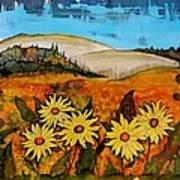 Prairie Wildflowers Art Print