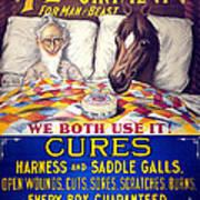 Pratts Healing Ointment Art Print