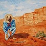 Prayer For Earth Mother Art Print