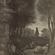 Prayer Of Jesus In The Garden Of Olives Art Print