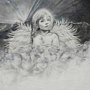 Prayers To An Angel Art Print