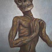 Praying Cadaver Art Print