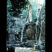 Preah Khan Temple 01 Art Print