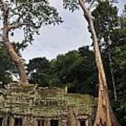 Preah Khantemple At Angkor Wat Art Print