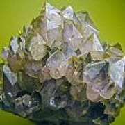 Precious Crystals Art Print